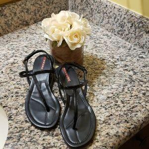 Prada Flat  T- strap sandal